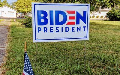 Biden 2020 Signs