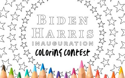 Mercer Democrats Inaugural Coloring Contest