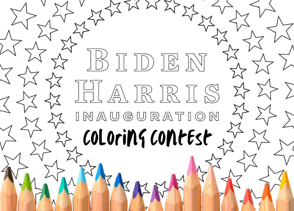 Mercer Democrats Inaugural Coloring Contest