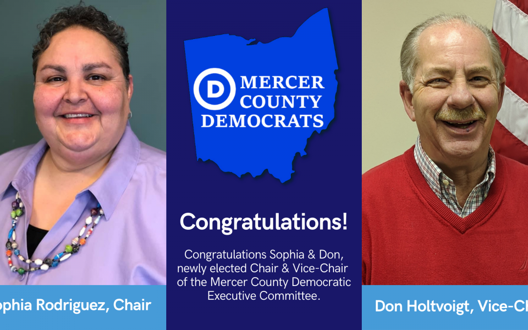 Mercer County Democrats Announce New Leadership